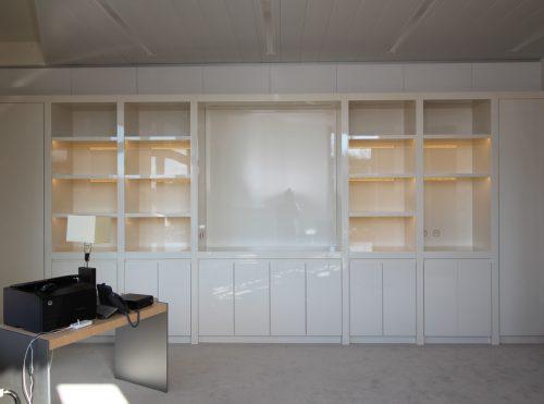 Bibliothèques laquées