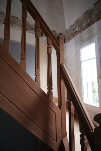 Reproduction escalier