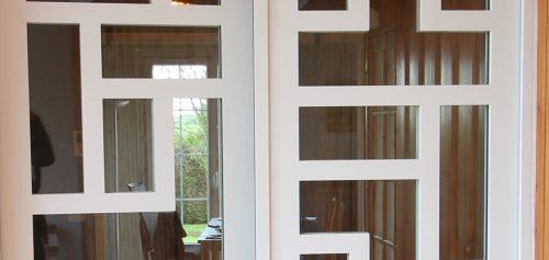Reproduction isolante porte design