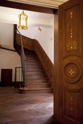 Escalier Caillebotte